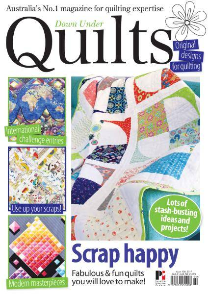 Down Under Quilts - Issue 180 - November 2017