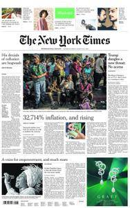 International New York Times - 18 August 2018