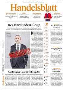 Handelsblatt - 30 November 2020