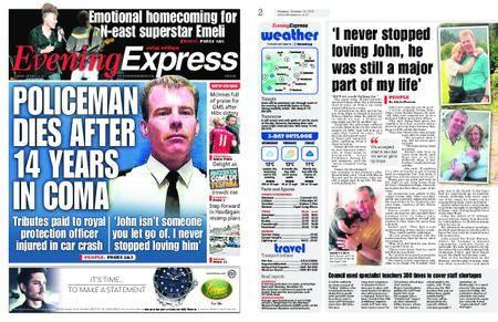 Evening Express – October 16, 2017