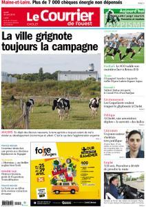 Le Courrier de l'Ouest Cholet – 29 avril 2019