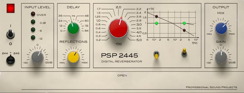 PSPaudioware PSP 2445 EMT v1.2.0 (Win/Mac)