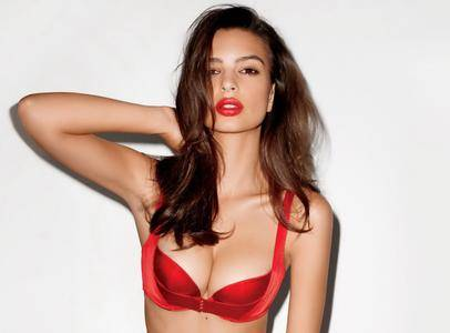 Emily Ratajkowski by Terry Richardson for GQ December 2013