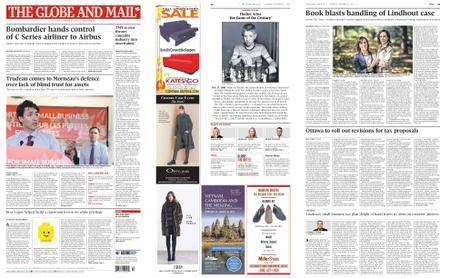 The Globe and Mail – October 17, 2017