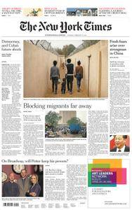 International New York Times - 27 February 2018