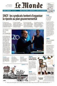Le Monde du Mercredi 28 Février 2018