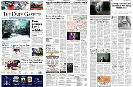 The Daily Gazette – February 06, 2018