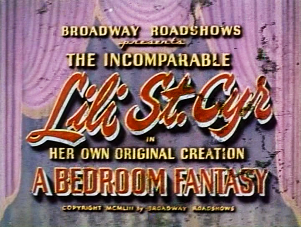 Bedroom Fantasy (1953)