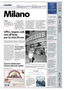 la Repubblica Milano - 8 Novembre 2018