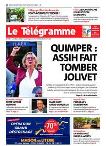 Le Télégramme Ouest Cornouaille – 29 juin 2020