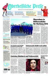 Oberhessische Presse Marburg/Ostkreis - 12. Dezember 2017
