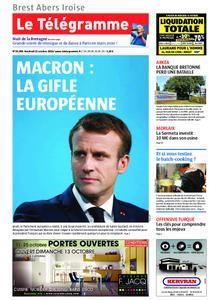Le Télégramme Brest Abers Iroise – 11 octobre 2019