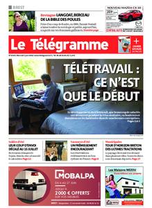 Le Télégramme Brest Abers Iroise – 03 juin 2020