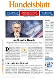 Handelsblatt - 23. Januar 2018