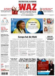 WAZ Westdeutsche Allgemeine Zeitung Oberhausen-Sterkrade - 25. Mai 2019