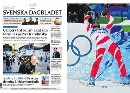 Svenska Dagbladet – 09 februari 2018