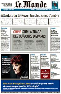 Le Monde du Dimanche 11 et Lundi 12 Novembre 2018