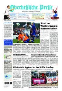 Oberhessische Presse Marburg/Ostkreis - 02. September 2017