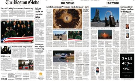 The Boston Globe – December 04, 2018