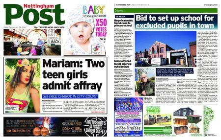 Nottingham Post – September 28, 2018