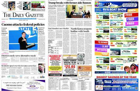 The Daily Gazette – January 04, 2018