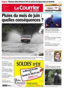 Le Courrier de l'Ouest Angers – 10 juillet 2021