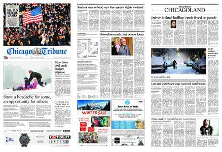 Chicago Tribune – February 10, 2018