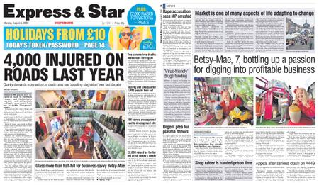 Express and Star Staffordshire Edition – August 03, 2020