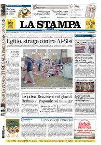 La Stampa Torino Provincia e Canavese - 25 Novembre 2017