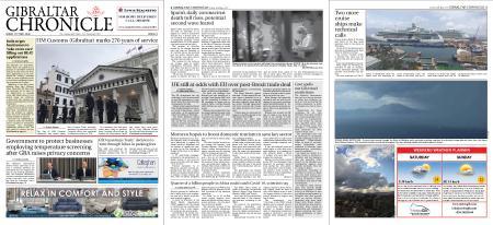 Gibraltar Chronicle – 15 May 2020