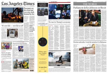 Los Angeles Times – September 04, 2019