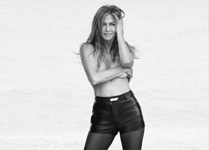 Jennifer Aniston by Alexi Lubomirski for Harper's Bazaar US June/July 2019