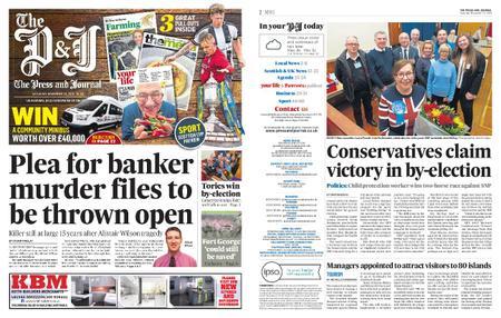 The Press and Journal Moray – November 23, 2019