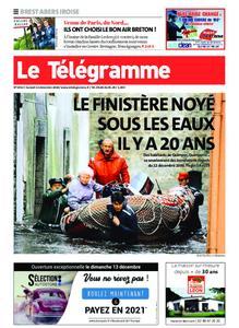 Le Télégramme Brest Abers Iroise – 12 décembre 2020