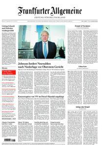 Frankfurter Allgemeine Zeitung F.A.Z. - 25. September 2019