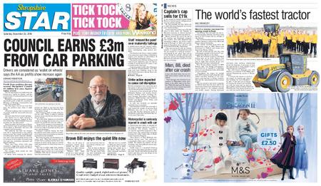 Shropshire Star Shrewsbury Edition – November 23, 2019