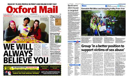 Oxford Mail – October 23, 2018