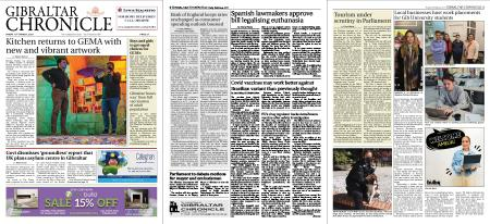 Gibraltar Chronicle – 19 March 2021
