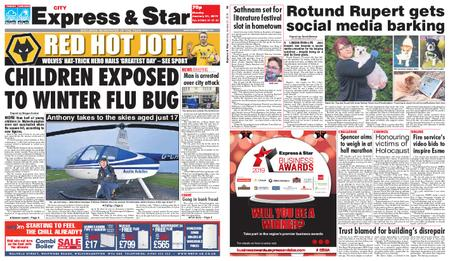 Express and Star City Edition – January 21, 2019