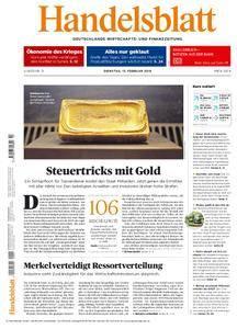 Handelsblatt - 13. Februar 2018