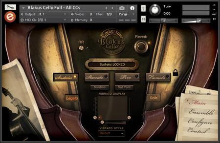 Embertone Blakus Cello 24-bit Edition KONTAKT