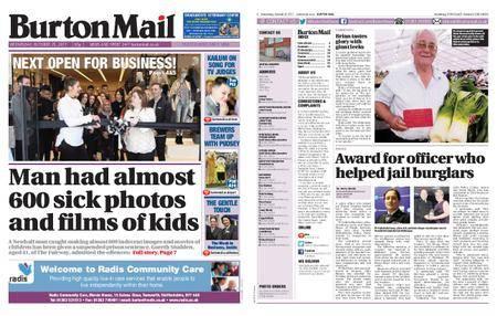Burton Mail – October 25, 2017
