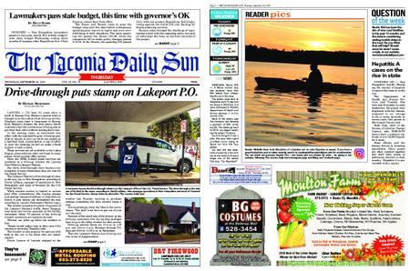 The Laconia Daily Sun – September 26, 2019