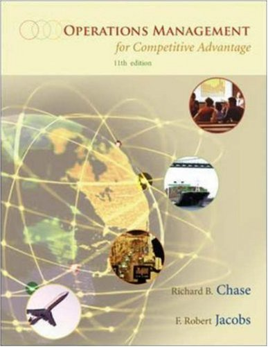 Operations Management for Competitive Advantage, 11 edition