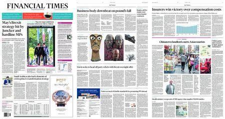 Financial Times UK – September 08, 2017