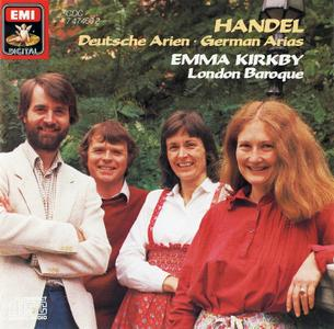 Emma Kirkby, London Baroque - Handel: Deutsche Arien (1985)