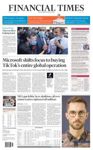 Financial Times Middle East - August 7, 2020