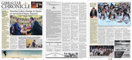 Gibraltar Chronicle – 02 June 2018