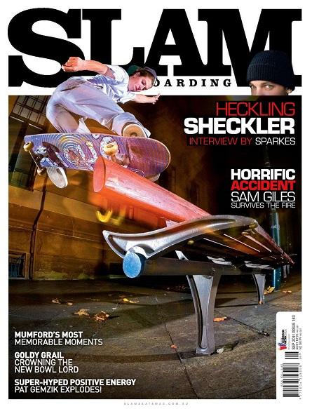 Slam Skateboarding - September 2011