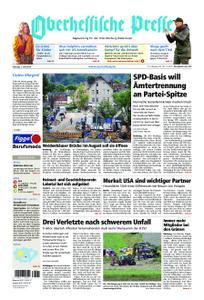 Oberhessische Presse Marburg/Ostkreis - 01. Juni 2019